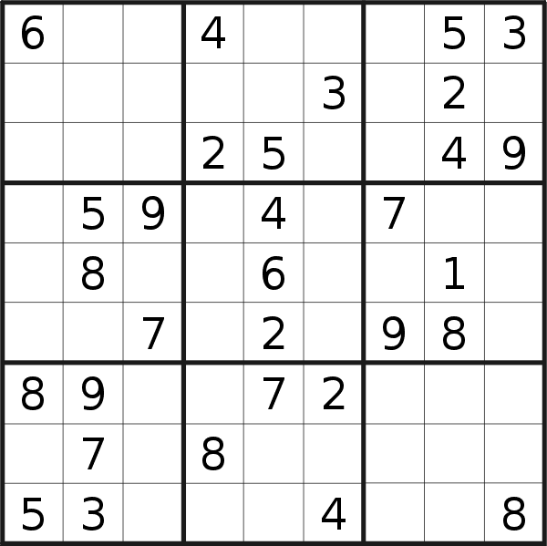 It's just a graphic of Invaluable Daily Sudoku Printable