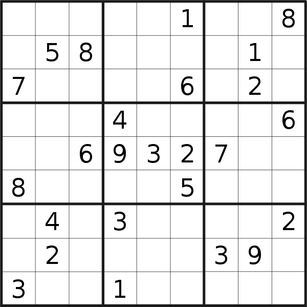 Sudoku puzzle for <br />Wednesday, 5th of February 2020