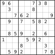 sudoku puzzle published on 2019/07/05
