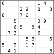 sudoku puzzle published on 2020/12/06