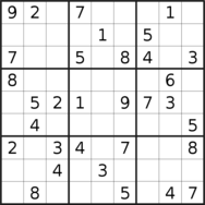 sudoku puzzle published on 2020/12/14
