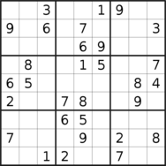 sudoku puzzle published on 2020/12/31