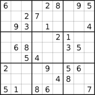sudoku puzzle published on 2021/01/11